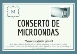 Manutenção em microondas.leia