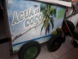 Carro de água de Coco