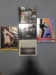 U2 - 3 CDs, 2 DVDs (1 dvd duplo)