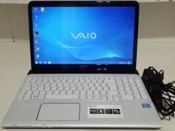 """Notebook Sony Vaio, Seminovo, Corei3 da 3ªGeração, 4GB, 500HD, Tela15.6"""", 2H Bateria"""