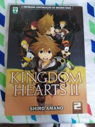 Mangá kingdom hearts volume 2