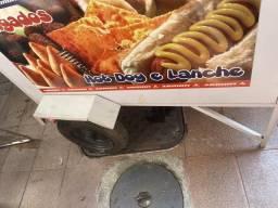Carroça cachorro quente e batata