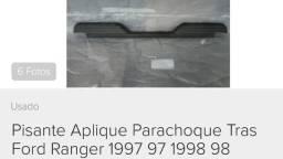 Pisante Acabamento Parachoque Traseiro para Ford Ranger a partir 1994 Original
