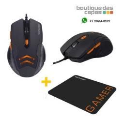 Título do anúncio: Combo mouse 3200DPI e moupad gamer multilaser MO274 ou MO273