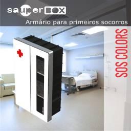 Armário Primeiros Socorros - Sos Colors 90x56x26 - M. 62 Gz