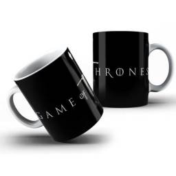 Caneca Game Of Thrones Series Porcelana 325ml #2490 Stpfs Otcos
