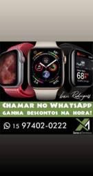 Apple watch 3,4,5 chama no whatsapp ganha desconto