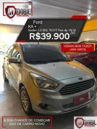 Ford Ka+ Sedan 1.0 SEL TiCVT Flex 4p - 2018