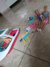 Estou vendendo esse lindo conjunto do barco da barbie original por apena 280 reais