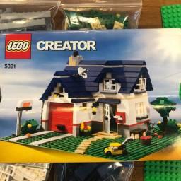 Lego Creator Set 5891 - Apple Tree House