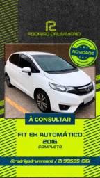 Honda Fit Ex Automático 2016 Único Dono