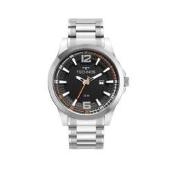 Relógio Tecnhos Masculino Prata