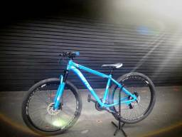 Bicicleta Battle MTB Alumínio aro 29 Freio a disco - Azul
