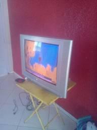 Vendo uma tv e uma geladeira