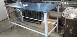 Bancada/ Mesa sem paneleiro 160x60 Nova