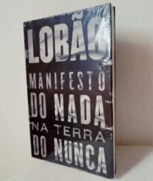 Livro: Lobão - Manifesto Do Nada Na Terra Do Nunca (Novo Lacrado)