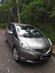 Honda Fit EX 10/11 Automático/Banco de couro!!