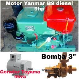 Conjunto Motor-Bomba-Gerador
