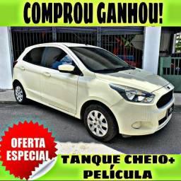 TANQUE CHEIO SO NA EMPORIUM CAR!!!! FORD KA SE 1.0 ANO 2015 COM MIL DE ENTRADA