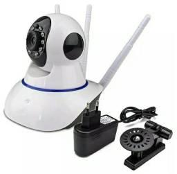Camera Ip Ultra Hd Sem Fio Visao Noturna Sensor de Movimento