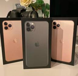 IPhone 11 Pro Max Gold/Verde 64 GB, 1 Ano de Garantia Apple