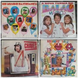 Lote 4 discos vinil infantil