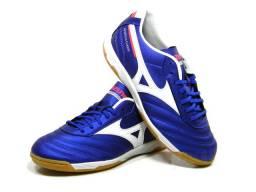Tenis Mizuno Morelia Classic Futsal azul tam: 38 até 44