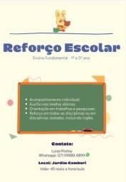 Título do anúncio: Reforço Escolar - 1º a 5º ano