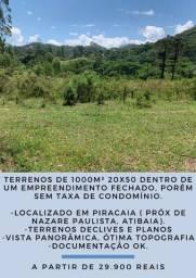 JY _ terreno em Piracaia 20x50
