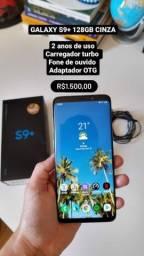 GALAXY S9 PLUS 128GB CINZA