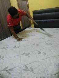 Higienização do seu colchão King