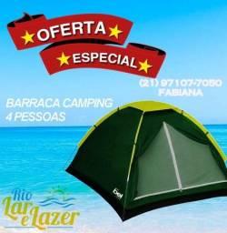 Barraca de Camping 4 pessoas