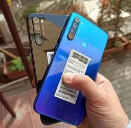 128 Gigas de memória ' Smartphone Android 10 ' Dual Chip ' Note 8 _128 Xiaomi