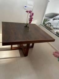 Mesa (nova) madeira maciça