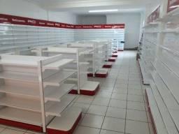 Prateleira/Gôndolas para farmácia/mercado/comercio em geral
