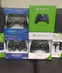 Controle PS3 e Xbox 360 fazemos entregas e aceitamos cartões