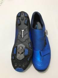 Sapatilha Shimano Sh-xc501 + Pedal Clip Shimano M.520