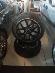 Amg rodas 19, perfil da roda 5 furos/ por 111 mm