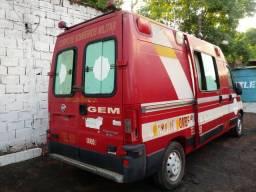 Vend Ducato ambulância 2014 no estad que se encontra