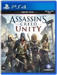 Título do anúncio: Assassin's Creed Unity PS4 - Midia Fisica