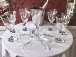 12 Taças para Vinhos de vidro (Seminovas)