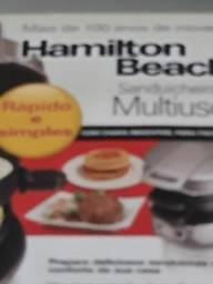 Sanduicheira grill multiuso Hamilton Beach