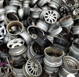 Compramos sucatas alumínio de roda perfil chapas cobre metal todos tipos de sucatas.