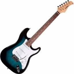 Guitarra Waldman e Contrabaixo Tagima 6 cordas.