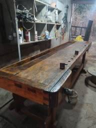 Bancada carpinteiro madeira maciça