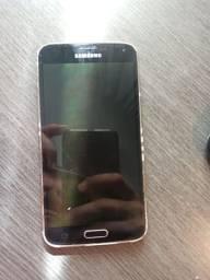 Galaxy S5, tela queimada, celular funciona
