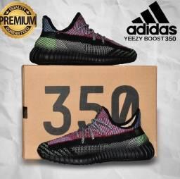 Tênis yeezy adidas boost v2 linha premium