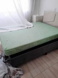 Cama box + colchao