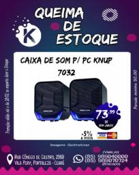 Caixa De Som P/PC Knup 7032