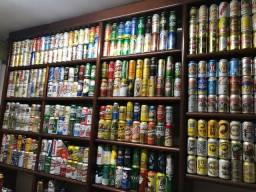 Coleção de Latinhas de Cerveja